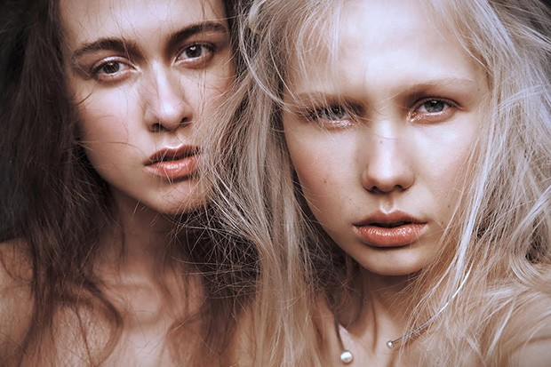 Helena & Petra by Daniel Stigefelt for BEAUTY SCENE - Beauty Scene
