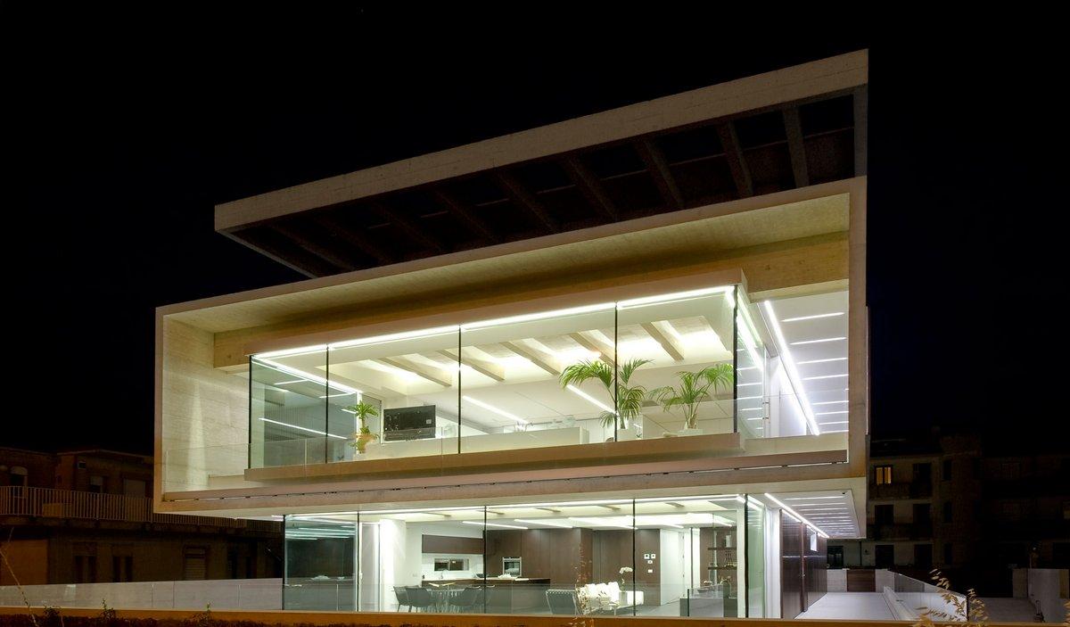 Casa NL_NF, Architrend, современные дома в Италии фото, интерьер в стиле минимализма фото, панорамные окна в частном доме фото, шикарный дом фото