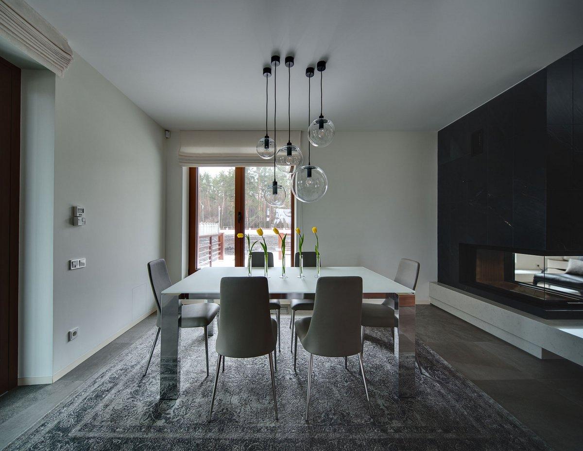 Prodan Design, Kirill Konstantinov, Light and Spacious Home Outside of Kiev, частные дома на Украине фото, роскошные дома на Украине фото