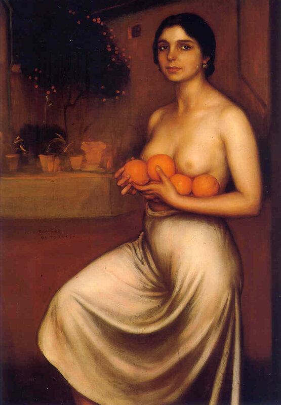 Апельсины и лимоны художник Хулио Р. де Торрес