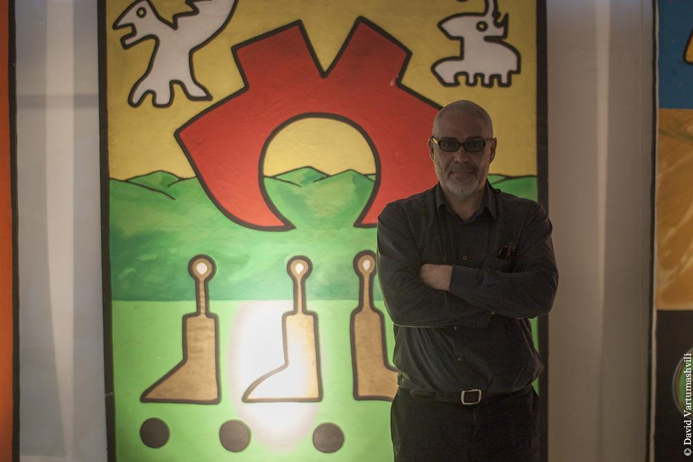 Батуми, выставка Гелы Цуладзе в Галерее современного искусства
