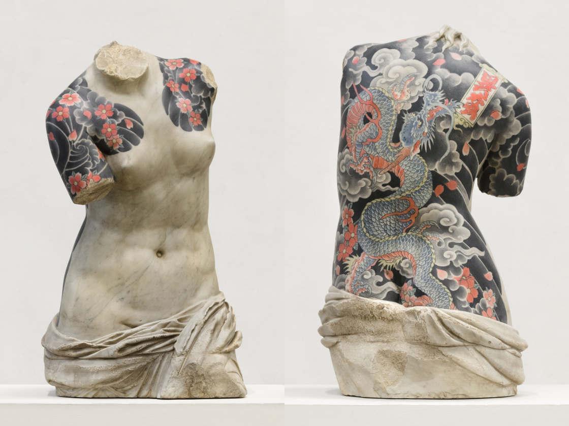 Les statues tatouees de Fabio Viale (22 pics)