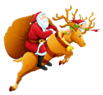 Santa_and_Reindeer_PNG_Clipart.png
