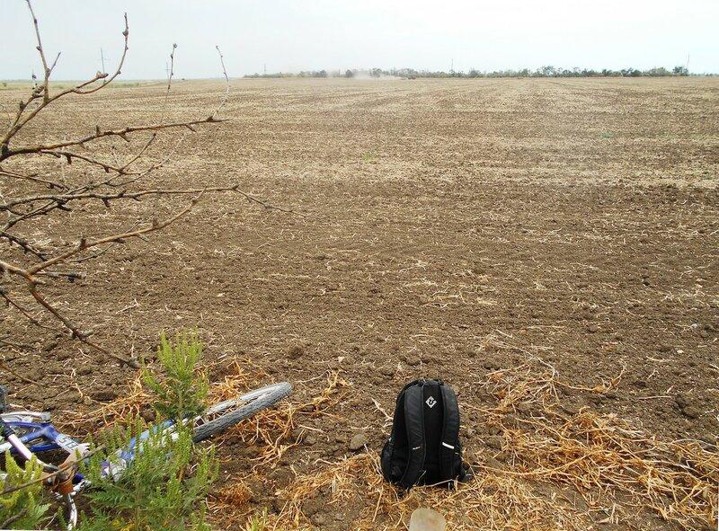 Привал у поля, и трактор на горизонте у далёкого леска ... DSCN8558.JPG