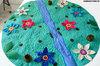 развивающий коврик полянка изумрудный