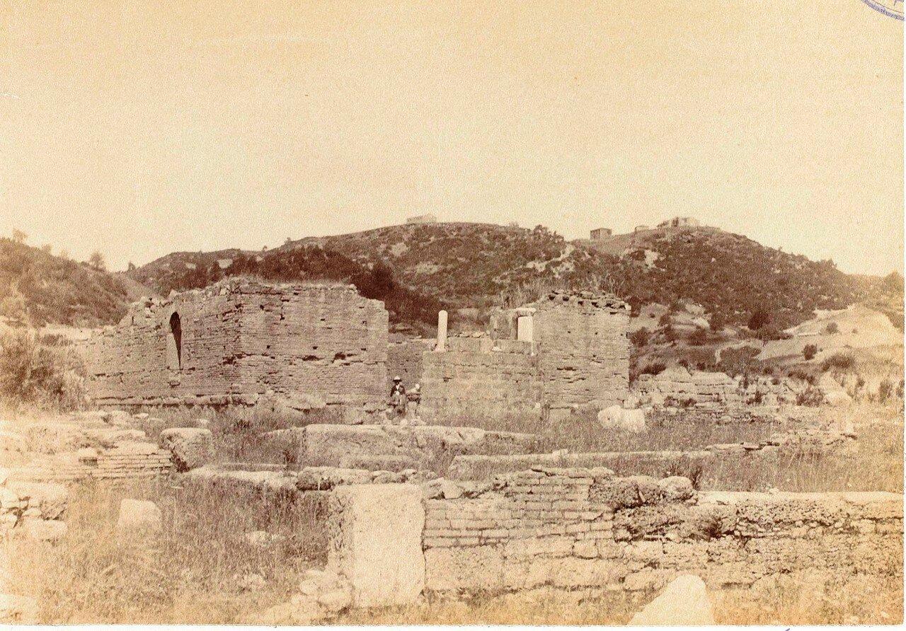 Апсиды византийской церкви. 1892