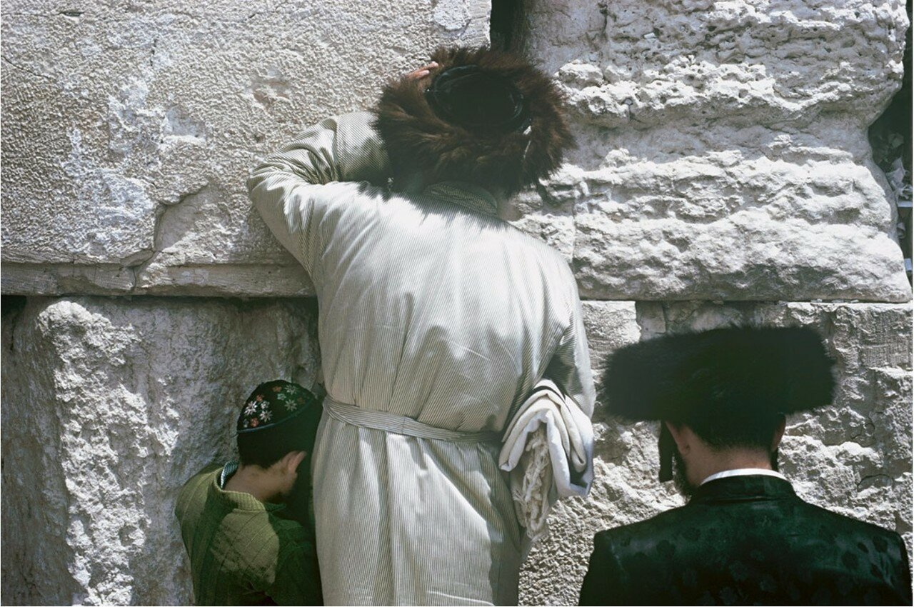 Иерусалим. Молитва у Стены Плача