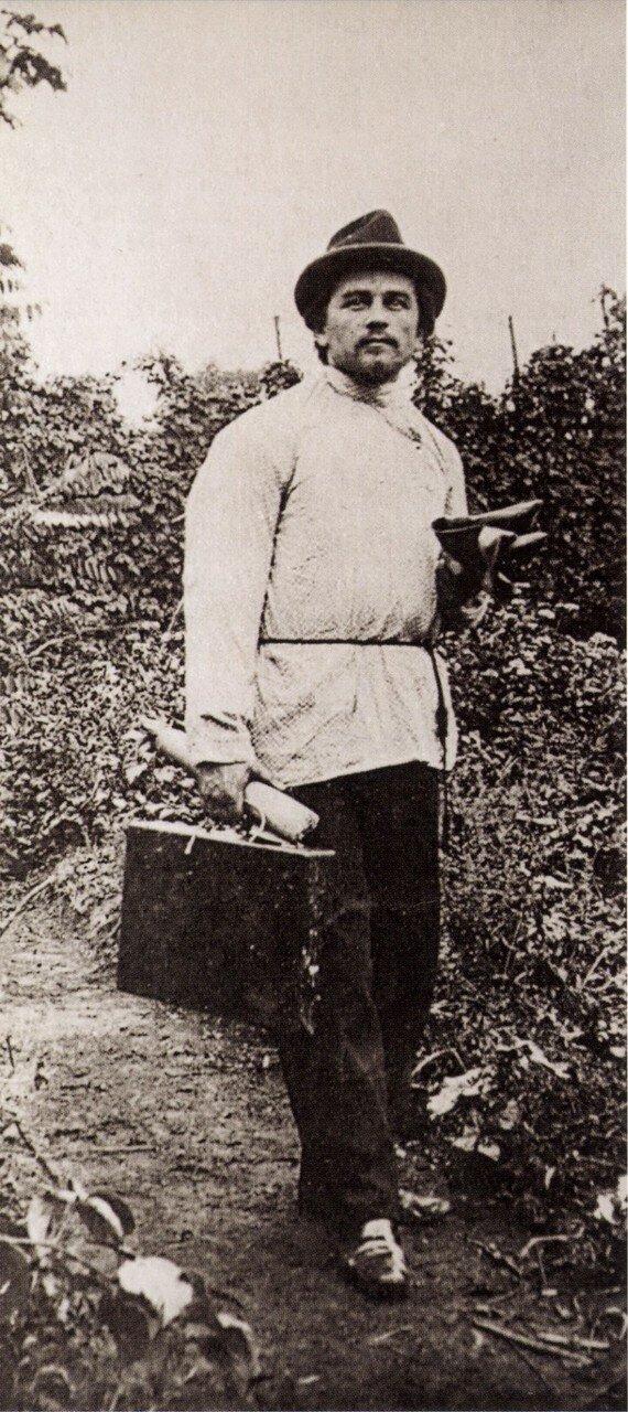1900. Казимир Малевич в Курске