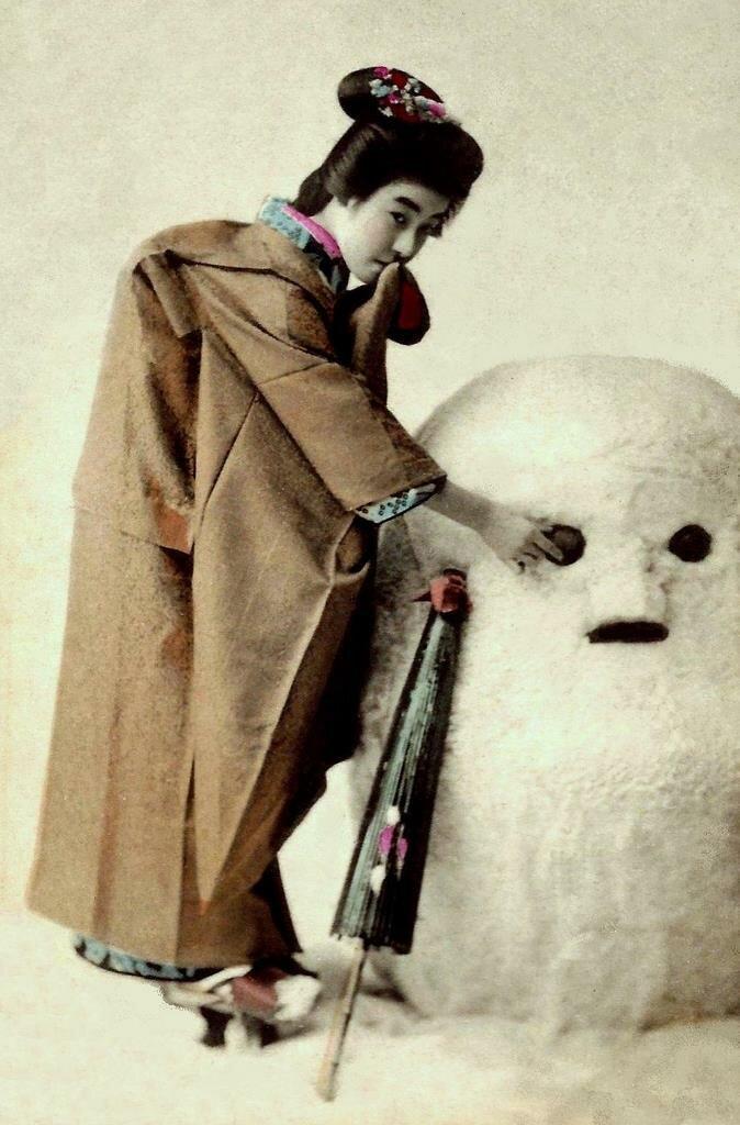 Юки Дарума (снеговик)