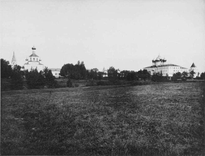 Москва, Измайлово, вид на остров с юга, 1888-1890 гг.