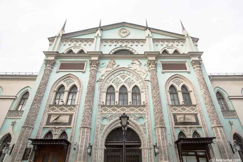 Здание Синодальной типографии - одно из любимых зданий в Москве