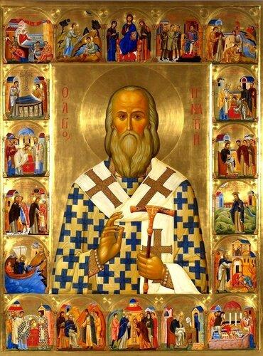 Святитель Игнатий (Брянчанинов), Епископ Кавказский и Черноморский. Иконописец Алексей Козлов.