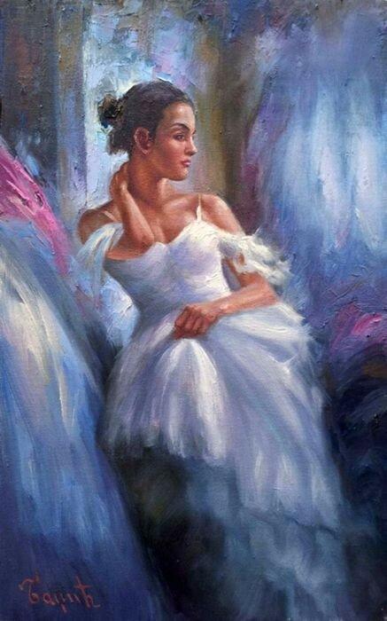 Балерина. Miomir Badzic