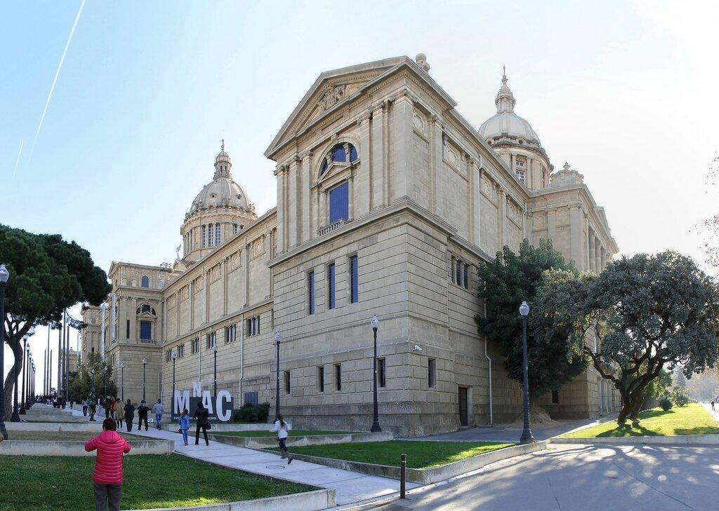 Барселона. Национальный дворец (Palau Nacional de Catalunia)