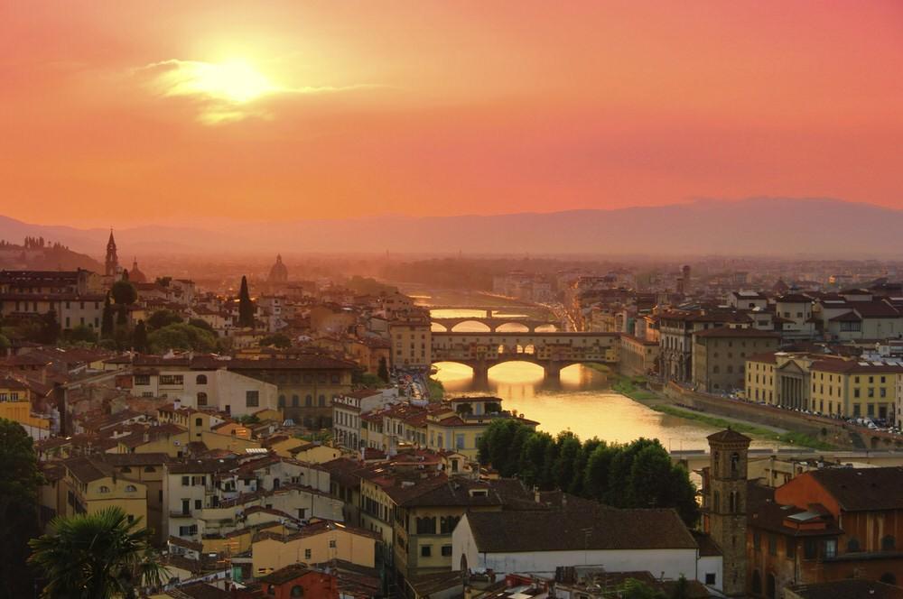 37. Прекрасная ренессансная Флоренция — родина лучших итальянских (если не мировых) музеев, галерей,