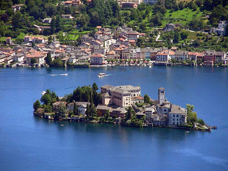 Самые красивые деревни Италии, Орта-сан-Джулио