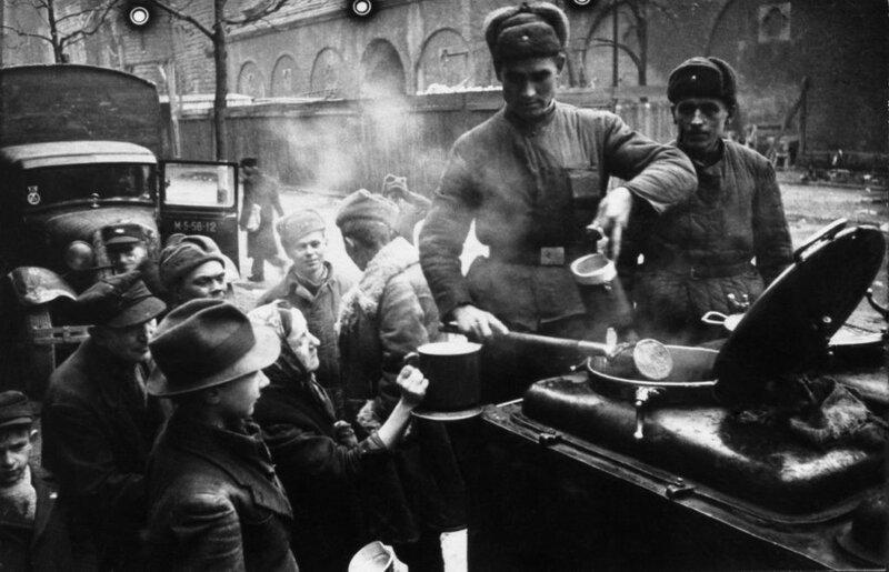 Берлин 1945 года Кофе для побежденных