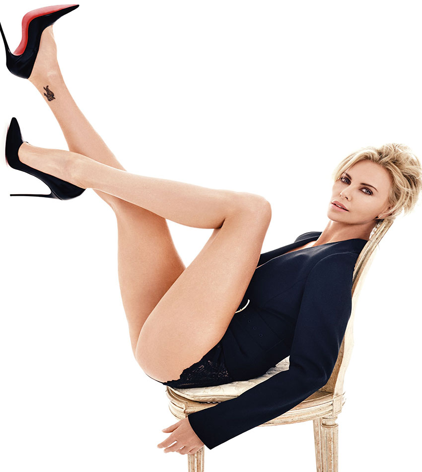Charlize Theron - GQ UK (May 2016)