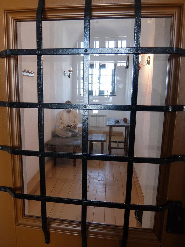 Тобольский Кремль - Тюремный замок - Дореволюционная камера