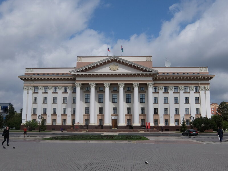 Тюмень - Администрация Тюменской области