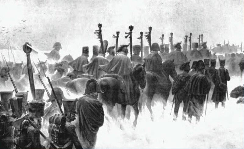 Ж. РУССО. Возвращение французской армии из России.jpg