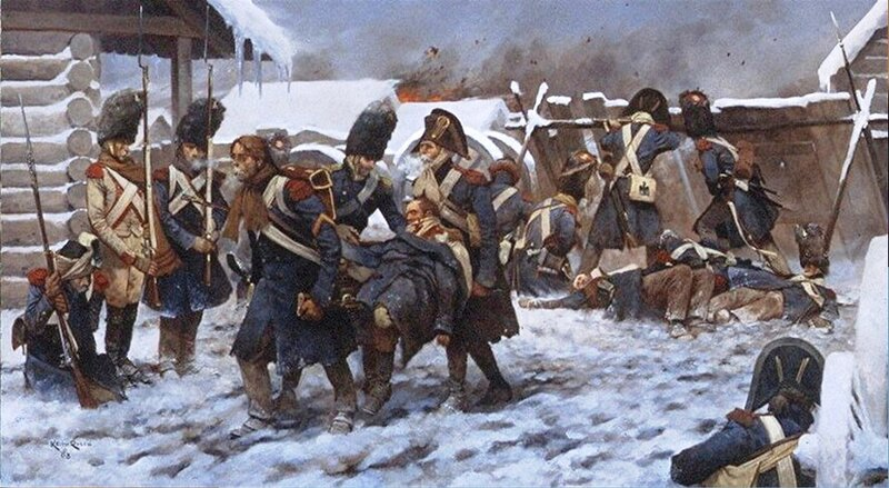 Кейт РОККО. Голландский полк во время отступления из России.jpg