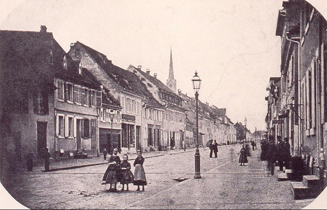 Кель. Главная улица как раз перед войной