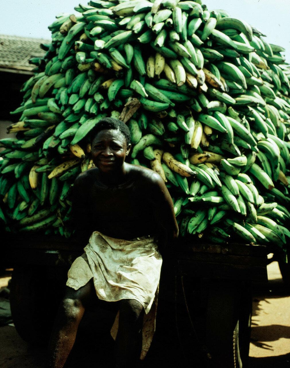 Торговец бананами