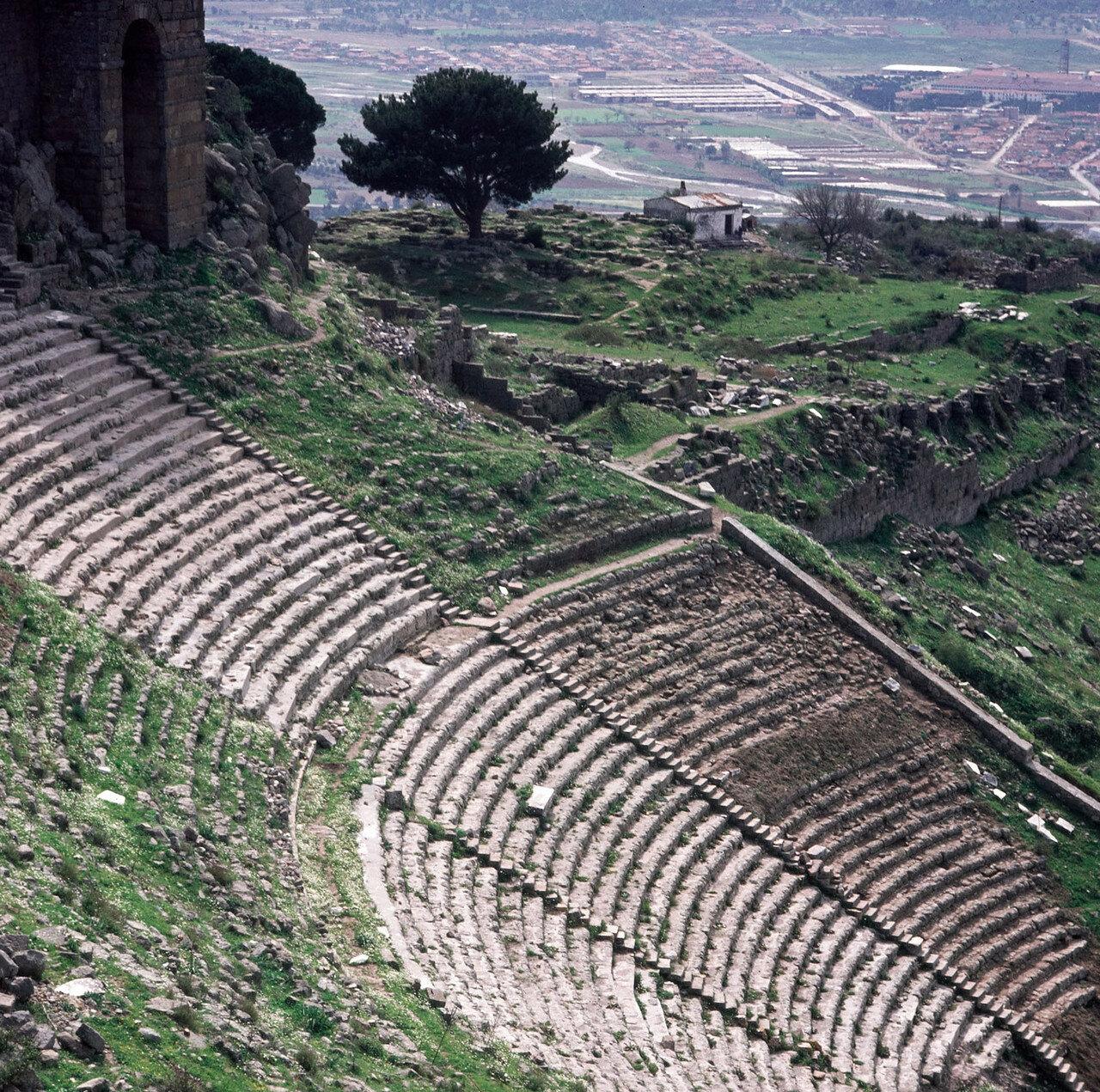 Пергам. Театр (II в. до н. э.)