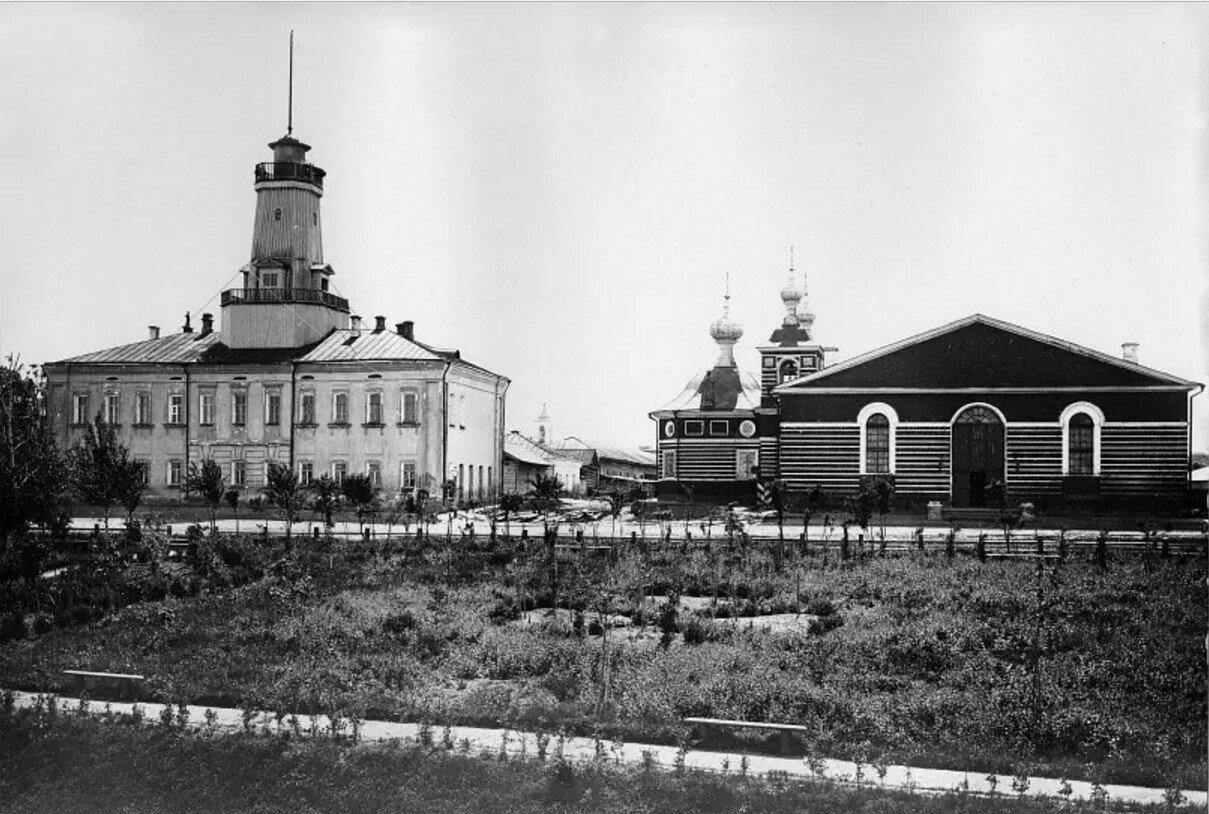 Здание Кремлевского пожарного депо