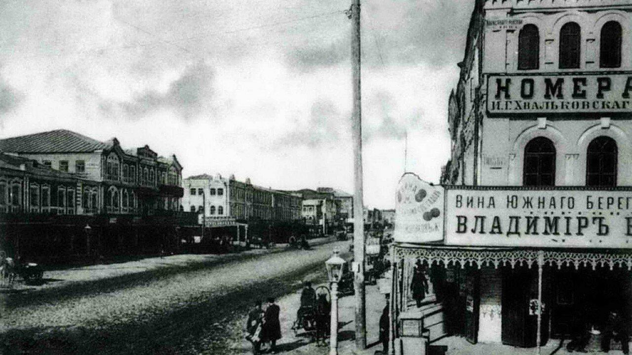 Улица Нижегородская, перекресток с Александро-Невской улицей