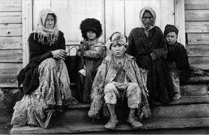Челябинск. Ночлежный дом. После сна. 1921