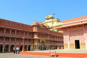 Индия. Джайпур, Городской дворец