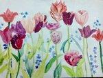 Топакова Лариса (рук. Кравченко Светлана Александровна) - Весенние краски
