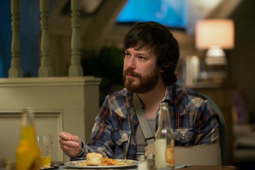John Gallagher Jr. as Emmett in 10 CLOVERFIELD LANE; by Paramount Pictures