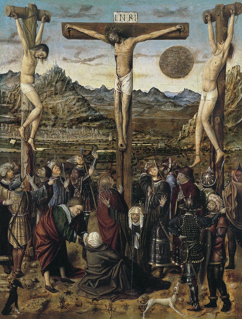 La_Crucifixión,_Anónimo_valenciano ок. 1450-60.jpg