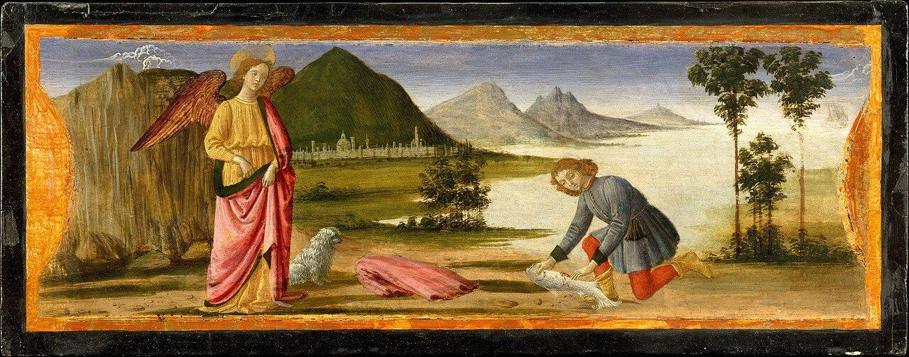 David_ghirlandaio,_tobiolo_e_l'angelo_raffaele 1484-86.jpg