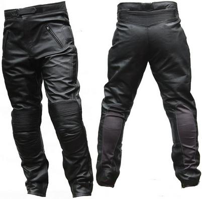 Кожанные штаны мотоциклиста