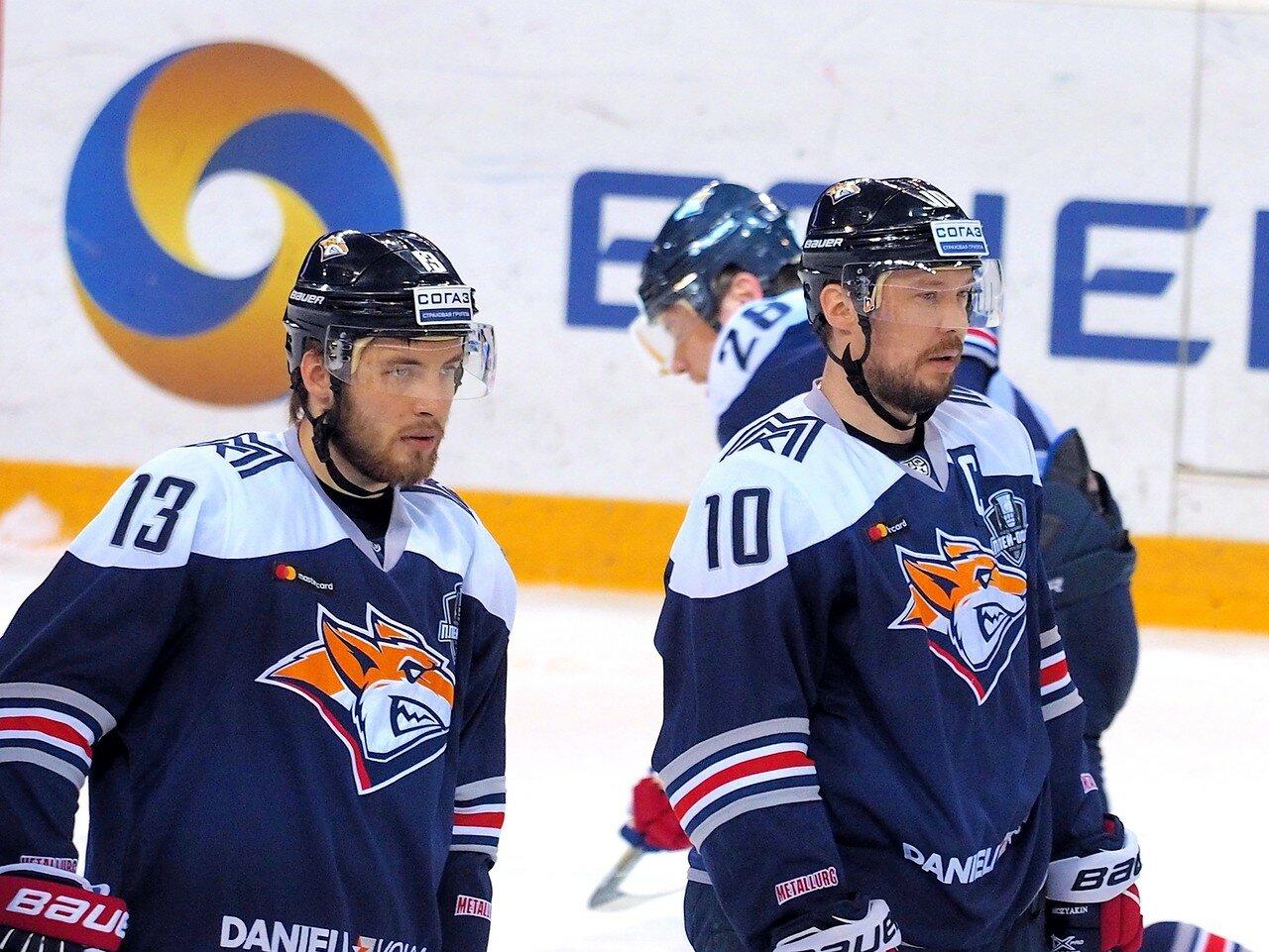 29 Первая игра финала плей-офф восточной конференции 2017 Металлург - АкБарс 24.03.2017