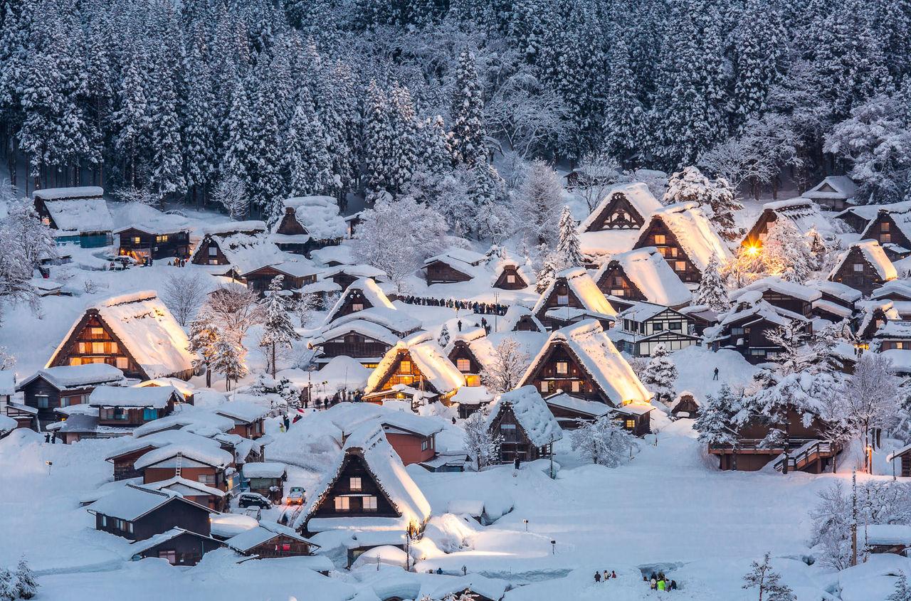 Красивейшие деревеньки