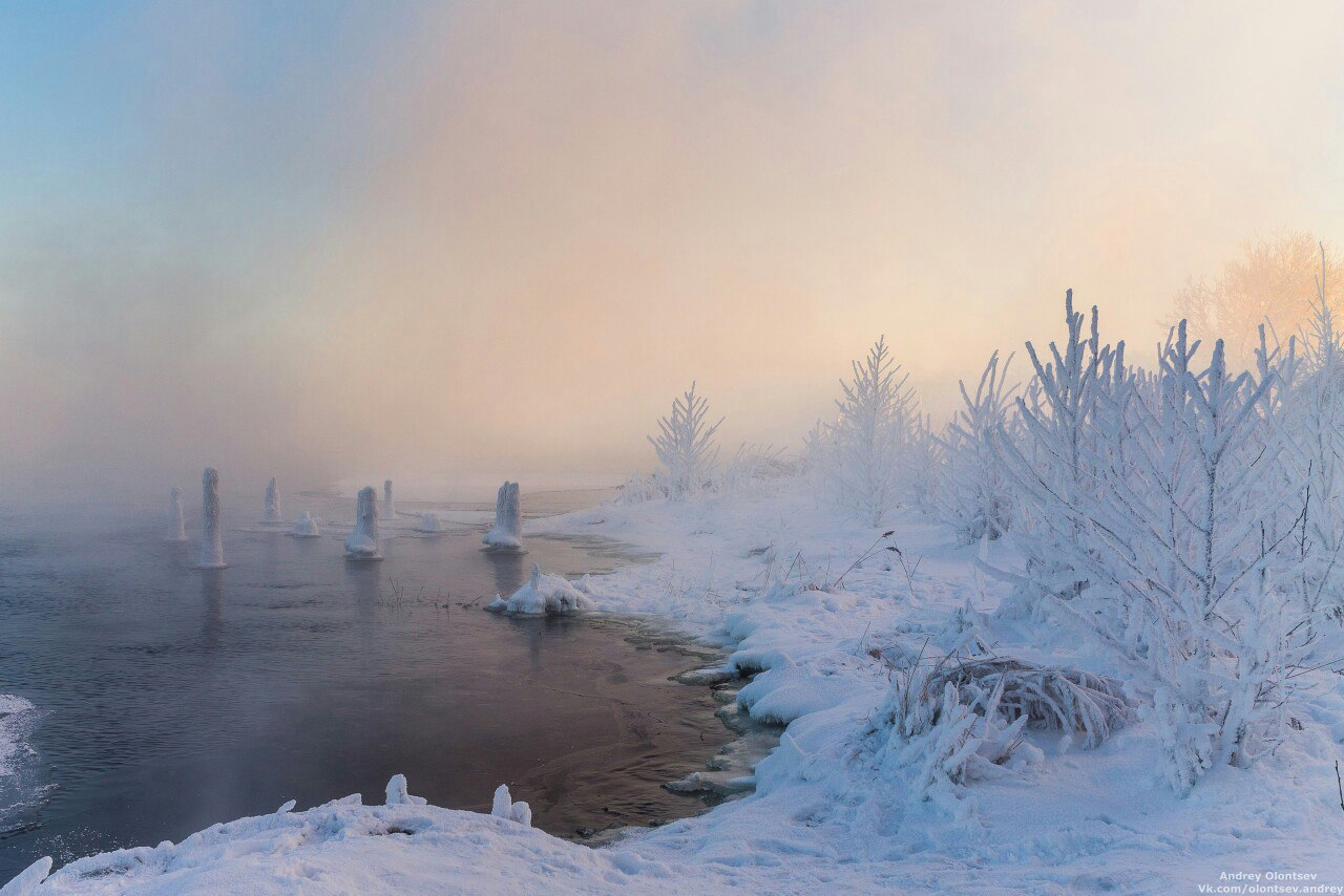 Подмосковная Дубна на снимках Андрея Олонцева