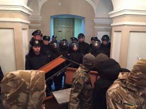 Судилище над ПС в Кировограде: здание Апелляционного суда заблокировано (ОБНОВЛЕНО)