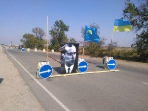 Вооруженные люди не принимают участие в блокаде Крыма