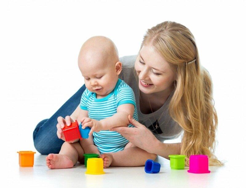Примерный список занятий с ребенком от 1 года до 3 лет