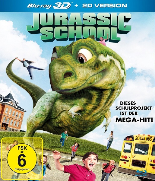 Школа Юрского периода / Jurassic School (2017/BDRip/HDRip)