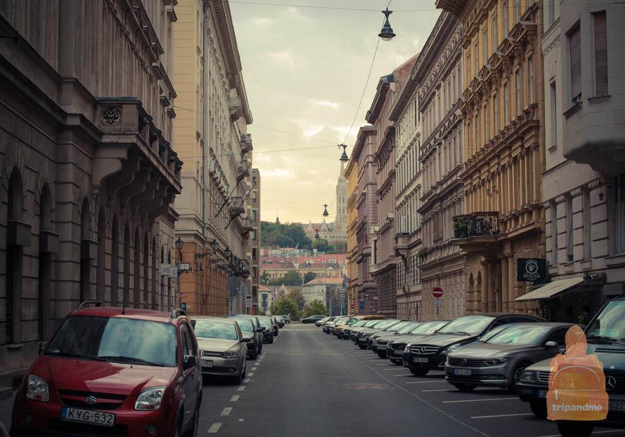 Бесплатная парковка Будапешт