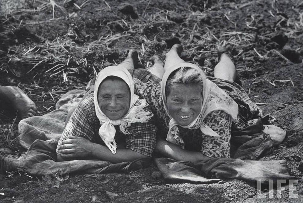 Крестьянки, 1960 год.