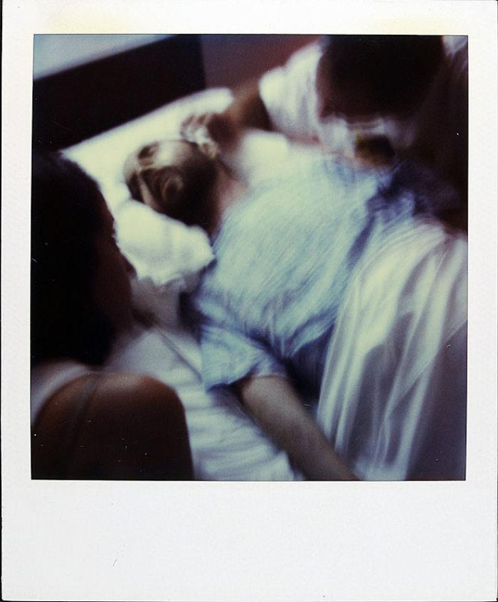 25 октября 1997 года: последняя фотография Джейми. Он умер в свой 41-й день рождения.