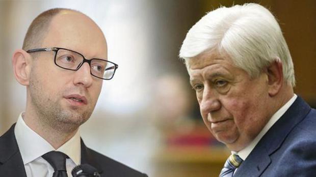 Порошенко исключил Яценюка изСовета государственной безопасности Украины