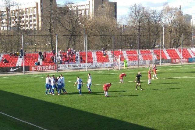 «Балтика» разгромила «Спартак-2» иулучшила свои позиции втаблице ФНЛ